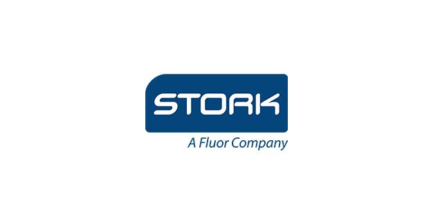 Stork - a Fluor Company Logo