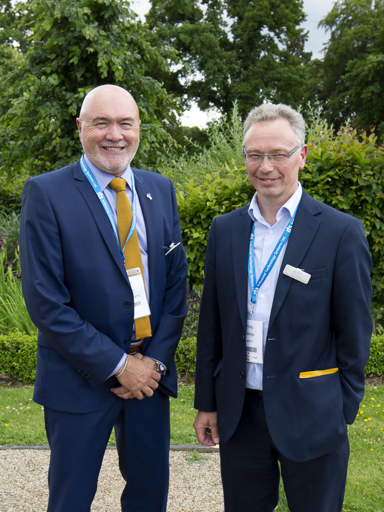 NEPIC MTM2018 - Newly appointed Chair & CEO, Mark Kenrick & Philip Aldridge